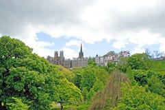 The edinburgh skyline Stock Image