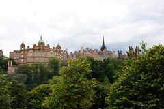 Edinburgh skyline Royalty Free Stock Image
