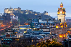 Edinburgh Skyline Stock Image
