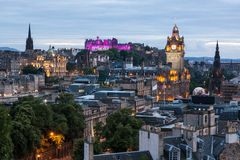 Edinburgh Skyline Stock Photography