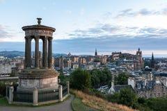 Edinburgh skyline Stock Image
