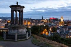 Edinburgh skyline Stock Photo