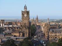 Edinburgh skyline Royalty Free Stock Images