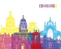 Edinburgh skyline pop. In editable vector file
