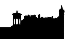 Edinburgh Skyline Scotland Royalty Free Stock Photography
