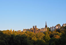 Edinburgh Skyline Royalty Free Stock Images