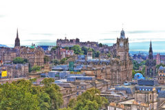 Edinburgh Skyline Stock Photography