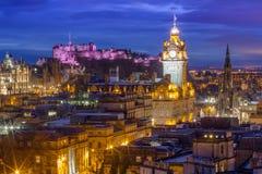 Edinburgh Skyline Royalty Free Stock Photography