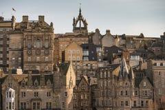 Edinburgh skyline. A view of Edinburgh's skyline Royalty Free Stock Photos