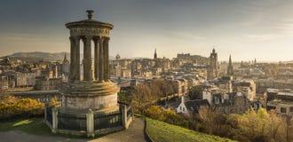 Edinburgh skyline. A view of Edinburgh's skyline, Scotland, UK Stock Photo