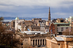 Edinburgh Skylines Stock Image