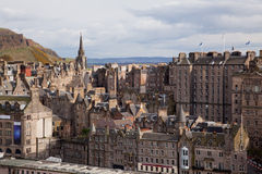 Edinburgh Skylines building Royalty Free Stock Photos