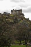 Edinburgh slott royaltyfri bild