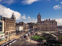 Edinburgh-Stadt Lizenzfreies Stockfoto