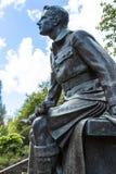 Edinburgh-Statue des Soldaten vom Ersten Weltkrieg Lizenzfreie Stockfotos