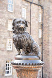EDINBURGH, statue of Greyfriars Bobby. SONY A7-24 mp Royalty Free Stock Image