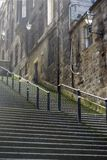 Edinburgh steps Royalty Free Stock Images