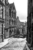 Edinburgh street Stock Photography