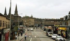 Edinburgh Street - Haymarket. Haymarket street in Edinburgh, Scotland Royalty Free Stock Photography