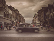Edinburgh street scene Stock Images