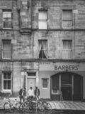 Edinburgh street scene Royalty Free Stock Photos