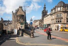 Edinburgh street Stock Photo