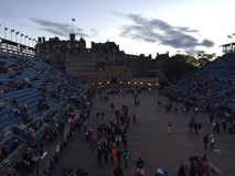 The Edinburgh Tatteo royalty free stock photography