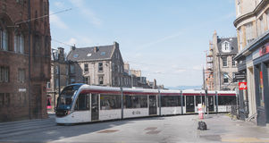 Edinburgh Trams 3 Stock Images