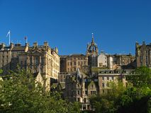 Edinburgh, vecchia città 04 Fotografia Stock