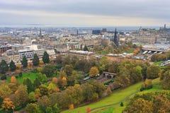 Edinburgh, View on city Stock Image