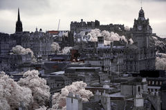 Edinburgh vista from Calton Hill Royalty Free Stock Photography