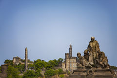 Edinburgh War Memorial Stock Image