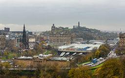 Edinburgh Waverley railway station Stock Photo