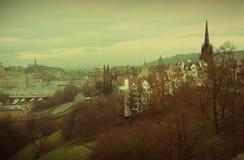 Edinburgh-Weinlese Lizenzfreie Stockbilder