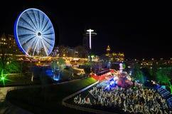 Edinburgh& x27; рождественская ярмарка s Стоковое Изображение RF