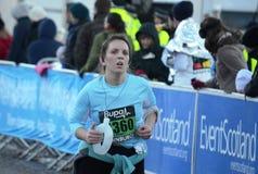 edinburgh zabawy biegacze Scotland Fotografia Royalty Free