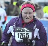 edinburgh zabawy biegacze Scotland Zdjęcia Royalty Free