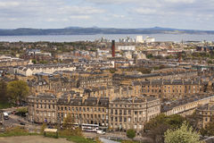 Edinburghs skyline.View from the Carlton hill Stock Photo