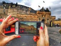 Edinburgh Castle escocia turist royalty free stock image