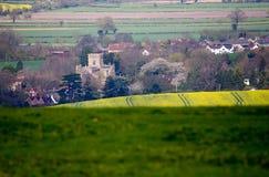 Edington Priory Church Wiltshire Stock Images