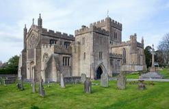Edington Priory Church Wiltshire Royalty Free Stock Photos