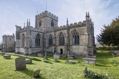 Edington Priory Church Wiltshire Stock Photos