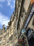 EDINGURGH, SCOTLAND/UNITED KINGDOM – AUGUST 10, 2017: Scotsman. `s Lounge and architecture in Edingburgh, Capital of Scotland, United Kingdom stock image