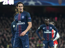 Edinson Cavani stock photo