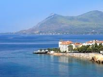 Edipsos in Griechenland Stockbilder
