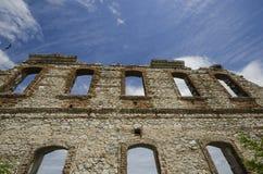 Edirne historische muur stock afbeelding