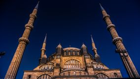Edirne Selimiye Mosque royalty free stock images
