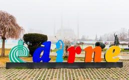 Free EDIRNE, TURKEY. Edirne City With Foggy View Royalty Free Stock Photo - 182120645