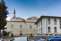 EDIRNE, TURKEY - MAY 26, 2018: Eski Camii Mosque in city of Edirne, Turkey. EDIRNE, TURKEY - MAY 26, 2018: Eski Camii Mosque in city of Edirne,  East Thrace Stock Photography