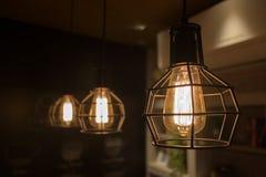 Edison światło Zdjęcie Stock